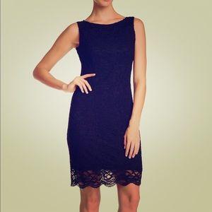 Black Sleeveless sheath dress